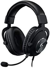 Logitech G Pro X Gaming Headset with Blue VO!CE technology (Renewed)