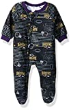 NFL Baltimore Ravens Unisex-Baby Blanket Sleeper, Ravens, 12 Months