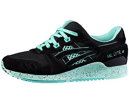 ASICS Unisex Gel Lyte III Bright Pack Sneaker Farbe: Schwarz/Mintgrün (9090); Größe: EUR 36 | US 4 | UK 3