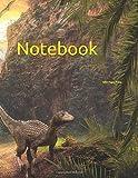 Notebook: prehistoric dinosaur palaeontology palaeontologist dinosaurs t-rex tyrannosaurus rex pterodactyl lambeosaurus fossil fossils history