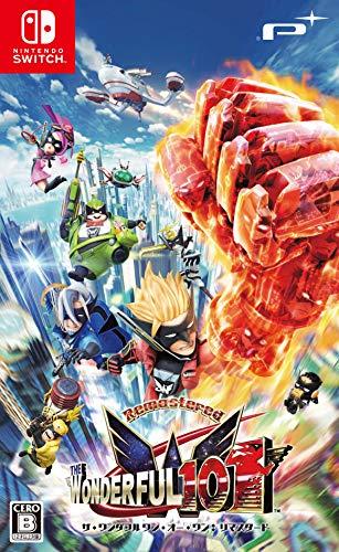 The Wonderful 101: Remastered - Switch (【初回限定特典】スペシャルステッカー 同梱)