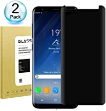 Galaxy S9 Plus Privacy Anti-Spy Tempered Glass Screen Protector, AOSOK [Anti Privacy][Case-Friendly][9H Hardness][No Bubble] [3D Touch] Tempered Glass for Samsung Galaxy S9 Plus (2pcs)