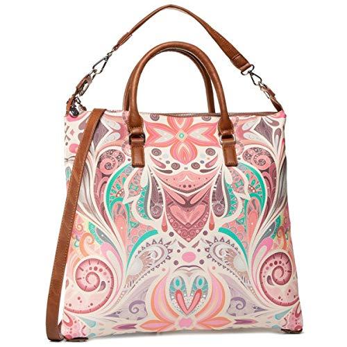 DESIGUAL MULTIVERSE KONNA Handbags women Brown/Multicolour - One size - Handbags