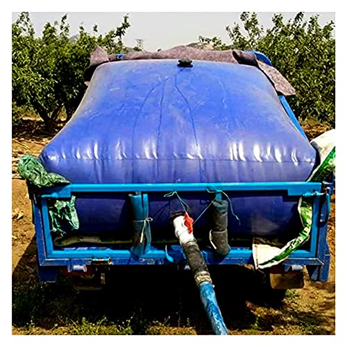 XJJUN Recipiente De Almacenamiento De Agua De Alta Capacidad, Vejiga De Agua De PVC Retardante De Llama Que Ahorra Espacio, para Acampar Al Aire Libre, Jardinería, Agua De Emergencia