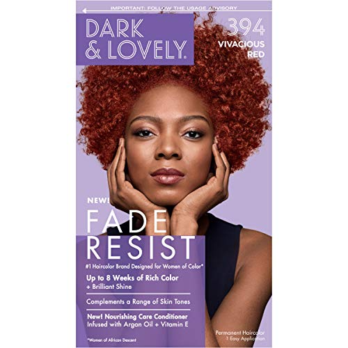 Permanent Hair Color by Dark and Lovely Fade Resist I Up to 100% Gray Coverage Hair Dye I...