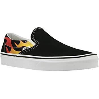 chaussures vans flamme