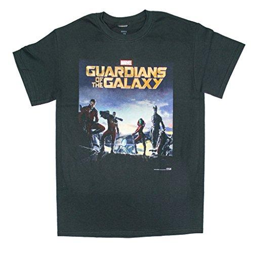 Marvel - Camiseta oficial de Guardianes de la Galaxia (S-XL)