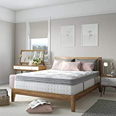 "Memory Foam Mattresses takes 48 hrs to get to its original dimensions.External factors(climate) may also affect it's expansion time.( 60"" W x 80"" L x 14"" H) Combines the superior support of a wrapped-coil innerspring system with the conforming respon..."