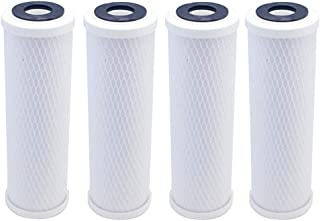4-Pack Compatible for WaterPur CCI10CLW12 Activated Carbon Block Filter - Universal 10 inch Filter for WaterPur CCI-10-CLW12 Water Filter Housing by IPW Industries Inc.