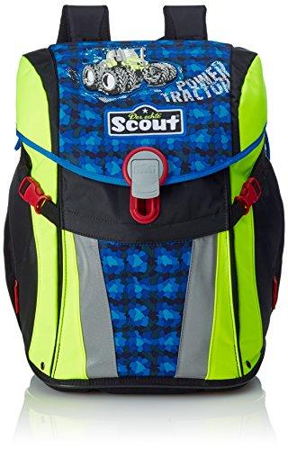 Scout 73410791400 Buddy Schulranzen-Set, Blau/Schwarz