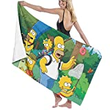 SJPillowcover The Simpsons Season Anime-Handtüche