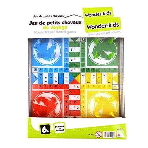 WDK Partner - A1300363 - Jeu de Société - Jeu Voyage Dadas Plateau Plast