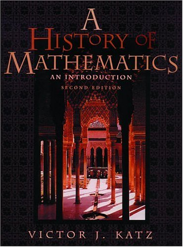 A History of Mathematics: An Introduction (2nd Edition)