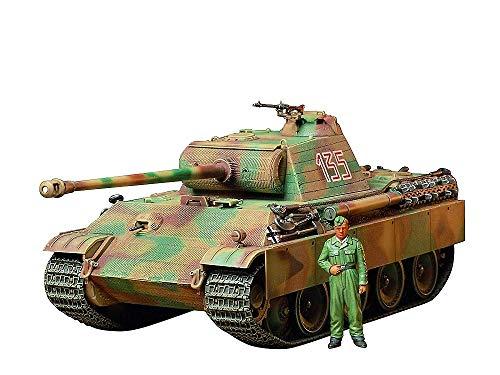 Tanque German Panther Type G Early Version - TAMIYA