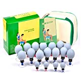 18 Cups Household Cupping Vacuum Suction Therapy Acupressure Cup TCM Acupuncture and Moxibustion Cupping Set Health Care (18)