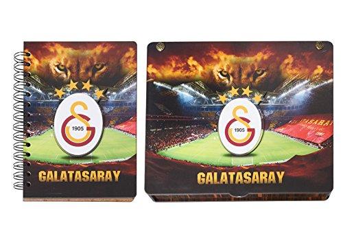 Remi Bijou Gök-Türk Handgemaakte geschenkdoos 'Galatasaray GS' voor voetbalfans en notitieboek