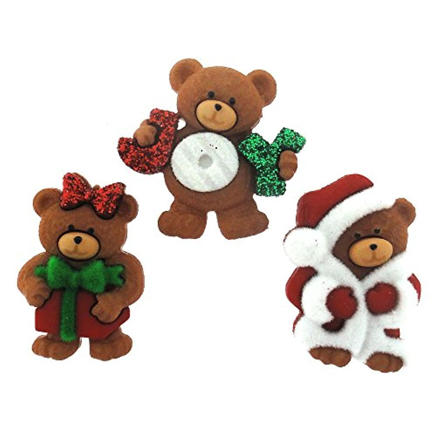 Dress It Up Buttons 7497 A Very Beary Christmas
