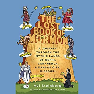 The Lost Book of Mormon audiobook cover art