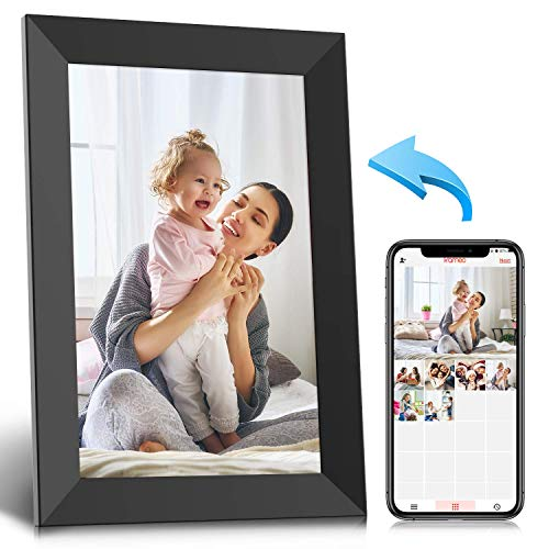 WiFi Digital Picture Frame, 10.1 Inch IPS Touch Screen HD Display...