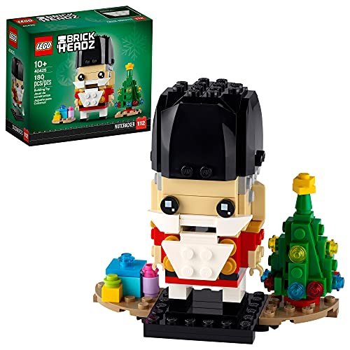 LEGO BrickHeadz Nutcracker 40425 Building Kit (180 Pieces)