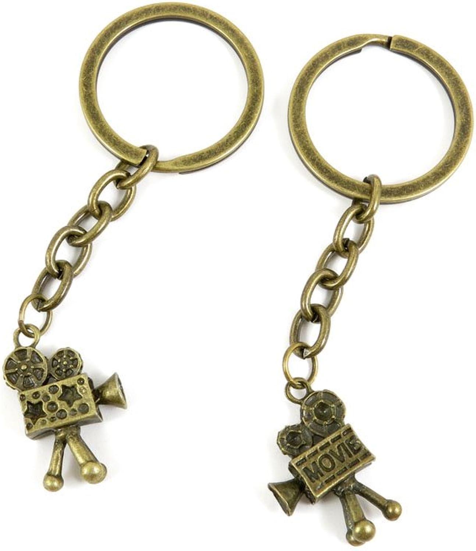 110 Pieces Fashion Jewelry Keyring Keychain Door Car Key Tag Ring Chain Supplier Supply Wholesale Bulk Lots U1GS5 Projector Bioscope
