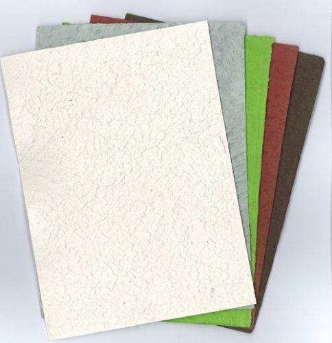 5er-Pack Bastelpapier-Set Nr. 157 - Moonrocks je 15 x 12 cm