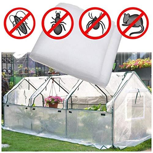 LILAMP Insecto jardín Protección Neto Grow túnel de Malla Fina de Verduras Frutas Planta de Invernadero Flores Cultivos, plaguicidas Repelente (Size : 2x8m)