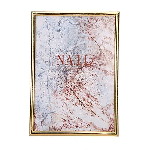 Nail Art Display Board Magnet Adsorption Card Mobile False Nails Display Holder Nail Colors Nail Gel Polish Display Chart Nail Art Salon(01)