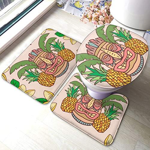 Tiki Bar Aloha divertida fiesta de impresión de Cortina de ducha para baño