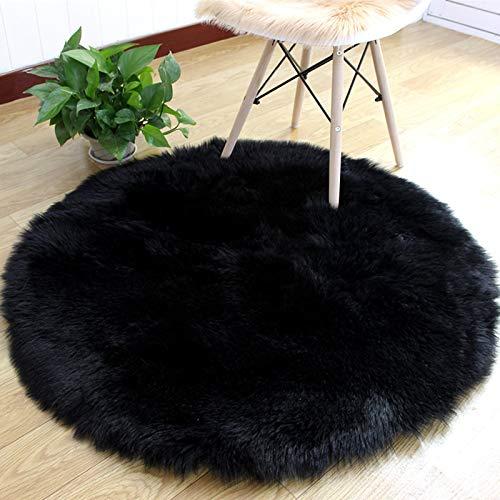 SHENGYUAN Alfombra de lana de imitación para sofá, alfombra grande de felpa,...