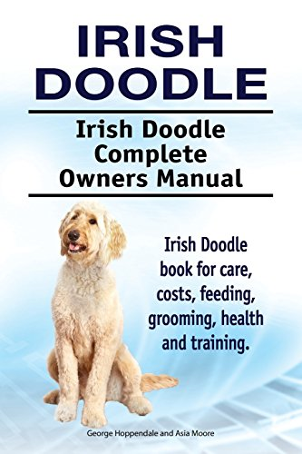 Irish Doodle. Irish Doodle Complete Owners Manual. Irish Doodle book for care, costs, feeding, grooming, health and training.