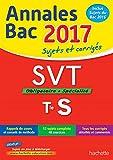 Annales Bac 2017 - SVT Term S