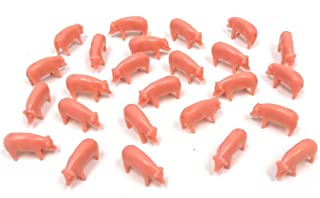 Pink Pigs (pkg of 25) 1:64 Scale