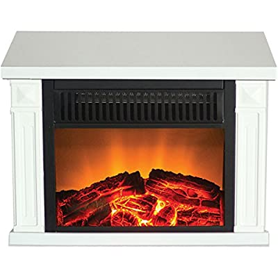 Frigidaire Zurich Tabletop Retro Electric Fireplace
