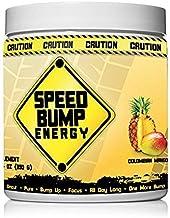 Speed Bump Energy Pre-Workout Supplement - 30 Servings - Insane Strength, Super Powerful Pump - Powder Focus Drink, No Cra...