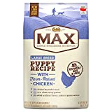 Nutro Max Large Breed Puppy Dry Dog Food With Farm Raised Chicken, 25 Lb. Bag