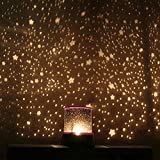 LISRUI Star Master Projector Romantic Light Night Sky Child Gift Toy Night Light Lamps for Bedroom Star Projection for Kids Girls Boys Baby Nursery Gift