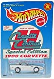 1988 Corvette Central Special Edition Limited Edition 1:64 Scale Collectible Die Cast Metal Toy Car Model