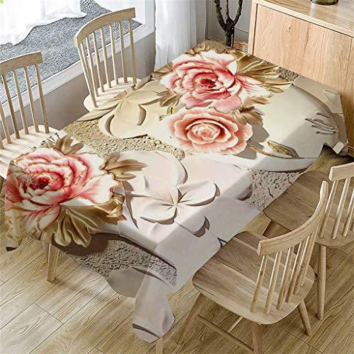 Factorys Ursprüngliche 3D Blume Tischdecke Rechteckige Tee Tischdecke Esszimmer Wohnkultur Tischdecke Tischset