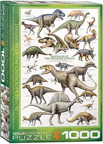 EuroGraphics puzzel dinosaurus van de krijttijd