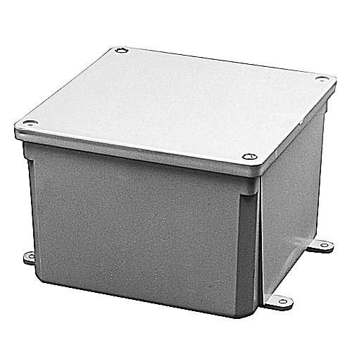 Thomas & Betts E989SSXUPC 8X8X7 Electrical Box (Pack of 2)