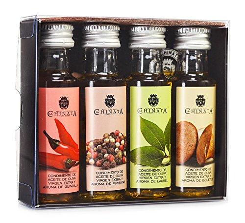 Aceite Oliva Virgen Extra '4 Condimentos' (4 x 25 ml) - La Chinata