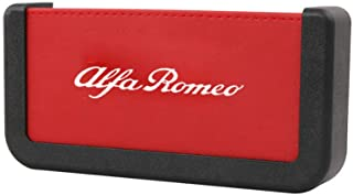 Auto Ledersitz Spalt Aufbewahrungsbox Getränkehalter, für Alfa·Romeo 159 147 156 166 Giulietta Stelvio GT 4C 8C Giulia Mito Brera Zubehör (D)