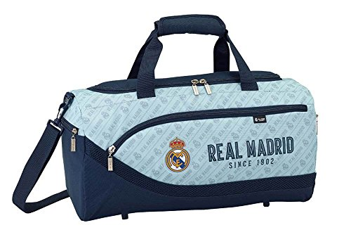 Safta Bolsa De Deporte Real Madrid Corporativa Oficial 500x250x250mm
