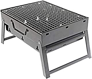 Portable Charcoal Grill, Foldable, Light Weight, with Net, Suitable for Outdoor Camping Picnic Backpack Cooking Festival P...