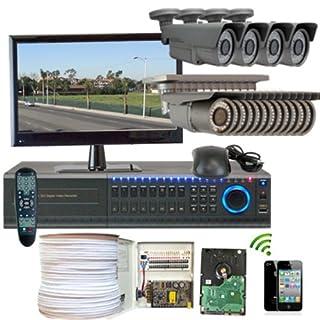 GW Security Inc. 16CHH1 16-Channel DVR 2.1 Megapixel 700 TVL 2.8-12mm Camera Surveillance System (Grey) (B00HGAWDXY) | Amazon price tracker / tracking, Amazon price history charts, Amazon price watches, Amazon price drop alerts