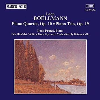 Boellmann: Piano Quartet / Piano Trio
