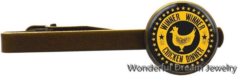 Rooster Tie Clip,Friendship Tie Clip,Chicken Tie Clip, Bird Tie Clip,Bridesmaid Gift,PU176 (Brass)