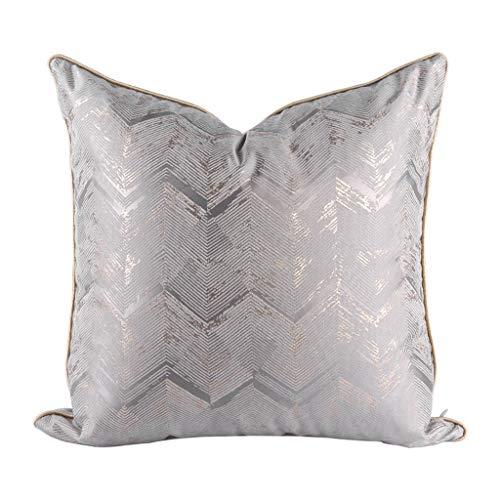 Vierkant Kussen Kussen, Oosterse Stijl Blended Living Room bank met kussen Core Pillow, hoge elastische omlaag Cotton Padded Thuis rugleuning Pillow (Color : 5, Size : 50x50cm)