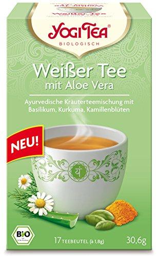 Yogi Tea Weißer Tee mit Aloe Vera Bio 17 x 1,5 g